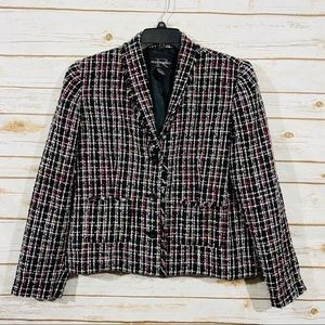Requirements women's button front jacket size 12